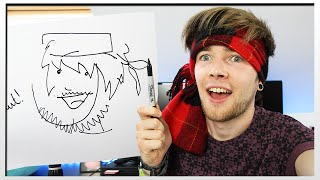 Download DRAWING THINGS BLINDFOLDED!! Video
