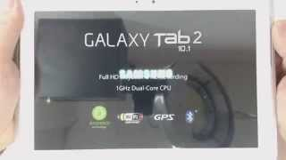Download Samsung Glaxy Tab 2 10.1 P5100 hard reset Video