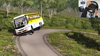 Scania vs Volvo bus Race on Highway | Euro truck simulator 2
