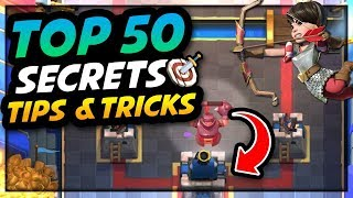 Download Clash Royale - TOP 50 AMAZING Strategy, Secrets, Tips & Tricks! Video