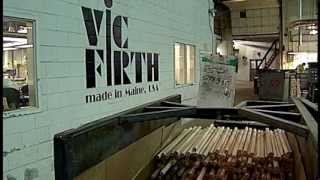 Download Vic Firth Drumsticks: Made in Maine Video