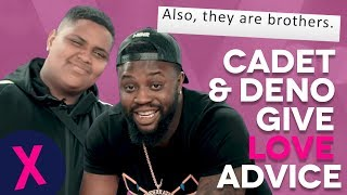 Download Cadet & Deno Give Hilarious Relationship Advice To Their Fans Video