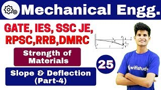 Download 1:00 PM - Mechanical by Neeraj Sir | Day #25 | Conjugate Beam Method | Slope and Deflection (Part-4) Video