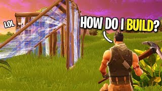 Download PRETENDING TO BE A FAKE NOOB ON FORTNITE... (HE TAUGHT ME HOW TO BUILD) Video