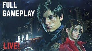 Download Resident Evil 2 Remake LEON Walkthrough (Full Game) Video