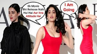 Download Jhanvi Kapoor IGNORES Ananya Pandey In Public - Watch Video Video