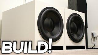 Download DIY SUBWOOFER BOX BUILD + PLANS! Video
