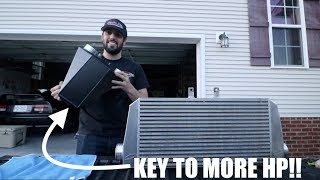 Download Secret Part to going FASTER!!! Air to Water Intercooler! Video
