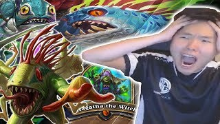Download ENDLESS Murlocs With QUEST SHAMAN | SHUDDERWOCK | THE WITCHWOOD | HEARTHSTONE | DISGUISED TOAST Video