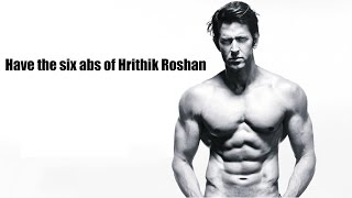 Download Have the abs of Hrithik Roshan in 8 min of training Video