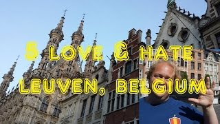 Download Visit Leuven - 5 Things You Will Love & Hate about Leuven, Belgium Video