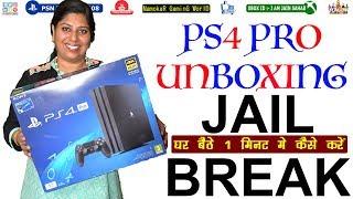 Download PS4 PRO Unboxing | 5.05 / 5.55 Version को 1 मिनट मे में Jail Break कैसे करें | NamokaR GaminG WorlD Video