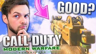 Download ONE OF THE BEST GUNS? - (Modern Warfare Remastered LIVE w/ Ali-A) Video