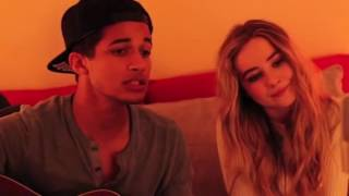 Download Sabrina carpenter and Jordan fisher - Christmas ( baby come home ) Video
