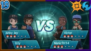 Download Pokémon Sun & Moon Wi-Fi Battle: Multi Battle [19] Video