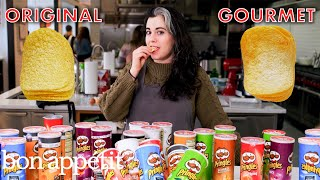Download Pastry Chef Attempts to Make Gourmet Pringles | Gourmet Makes | Bon Appétit Video