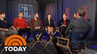 Download 'Justice League' Cast Talks New Film And What It's Like Being Idolized By Kids | TODAY Video