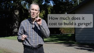 Download How Much Does It Cost To Build a Garage? (2018) Video