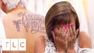 Download Stepmum Wants Bride's Back Tattoo Covered Up! | Say Yes To The Dress UK Video