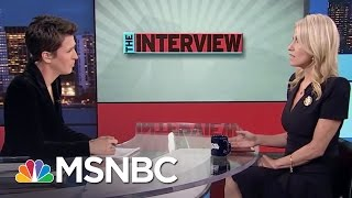 Download Kellyanne Conway: Donald Trump Is Putting The World 'On Notice' | Rachel Maddow | MSNBC Video