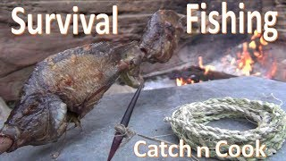 Download Survival Fishing Catch n Cook Primitive Gorge Hook Video