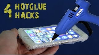 Download 4 amazing things can be made with a hot glue gun - hot glue hacks Video
