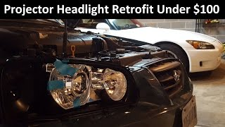 Download Retrofit Projector Headlights for Under $100 - Ballin' On A Budget Episode 1 Video