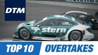 Download DTM Top 10 Brilliant Overtakes Video