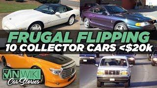 Download Rabbit's Top 10 Collector Cars under $20k Video