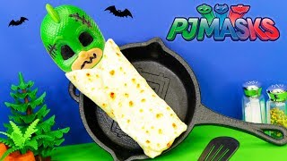 Download Whats Inside the Spooky Burrito with PJ Masks Playdoh Surprises Video