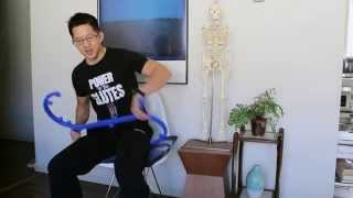Download A great self-massage tool for your hips, shoulders, and back Video