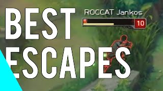 Download Best League Of Legends Escapes | Montage 2014-2016 Vol.3 Video