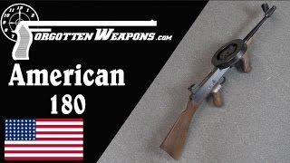 Download A Swarm of Angry Bees: The American 180 .22LR Submachine Gun Video