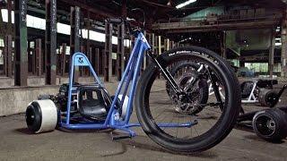 Download Toymakerz - Super Wheels / Big Wheels Drift Trike Battle against SFD Industries! Video