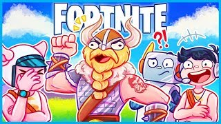 Download When your VIKING BROTHER LEGIQN Joins in Fortnite: Battle Royale! (Fortnite Funny Moments & Fails) Video