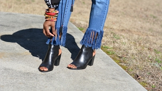Download DIY Fringe Hem Jeans Video