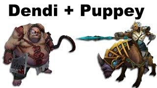 Download Dendi Pudge Puppey Chen fountain hooking - NaVi vs TongFu - Dota 2 #ti3 Video