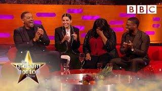 Download Will Smith and Kevin Hart's motivational speech fires up the audience! 🔥 - BBC Video