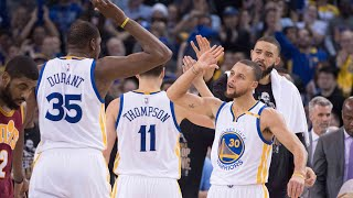 Download Golden State Warriors Fired Up Moments : GSW Go On a 18-3 Run VS CAVS Video