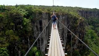 Download Nyanga. Zimbabwe. Mutarazi Falls. Sky Walk and zip line. Video