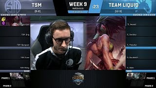 Download TSM vs TL | Week 9 Day 2 - NA LCS Summer 2018 | Team SoloMid vs Team Liquid Video