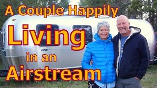 Download Couple living in an Airstream, Finding Healing and Health Video