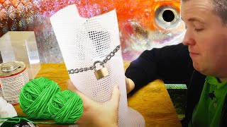 Download DIY Guppy Fry Trap, Breeding Cage, Breeder Net, How to Breed Guppy Fish. Video