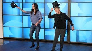 Download Katie Holmes Teaches Ellen to Tap Dance Video