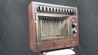 Download 1970s Antique and Rusty Gas Heater Restoration Video