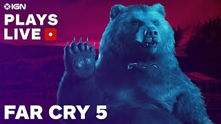 Download Far Cry 5: The Opening Hours Gameplay Livestream - IGN Plays Live Video