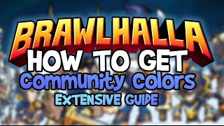 Brawlhalla Community Color Giveaway 2X3=? (Closed) Free Download