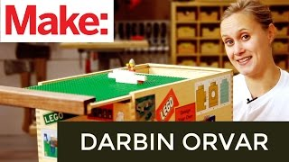 Download Darbin Orvar: DIY Lego Storage Box Video