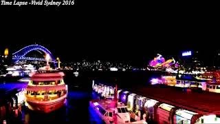 Download Time Lapse Compilation - Vivid Sydney Festival 2016 I Sydney Opera house I Sydney Harbour Bridge Video