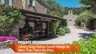 Download Wall Street Journal | Inside Johnny Depp's French Village Video